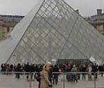 ルーブル美術館入口、ガラスのピラミッド