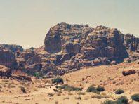 ヨルダンでぺトラの遺跡見物:94年中東旅行の思い出パート2
